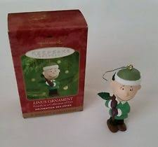 linus a snoopy peanuts hallmark keepsake ornament