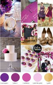 white gold and purple wedding purple and gold wedding color palette royal purple plum radiant