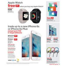 iphone 6s target black friday target weekly ad dec 6 2015