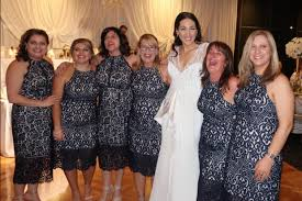 uk wedding registry six wedding guests turn up wearing the same dress we are not the