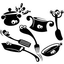 cuisine et ustensiles sticker design ustensiles de cuisine stickers cuisine ustensiles