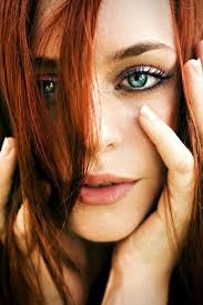 makeup for redheads green eyes ginger hair purple eyeshadow lt 3