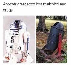 Any Drugs Or Alcohol Meme - another great actor lost to alcohol and drugs actor alcohol drug
