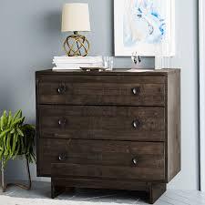 emmerson reclaimed wood 3 drawer dresser chestnut west elm