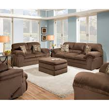 Upholstered Loveseat Chairs Harbortown Sofa And Loveseat Best Home Furniture Decoration