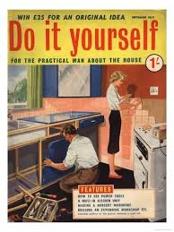 Practical Woodworking Magazine Uk by Do It Yourself Diy Kitchens Magazine Uk 1950 Giclee Print
