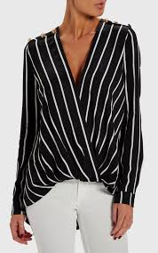black and white striped blouse forever unique dresses womens black white striped blouse