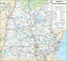 Texas State Park Map by Map Of Southern New Hampshire