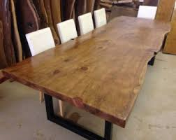 Raw Edge Table by Kitchen U0026 Dining Tables Etsy