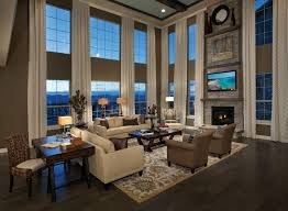 Best  Story Great Room Ideas Images On Pinterest - Two story family room