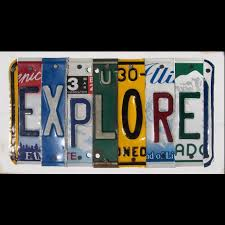 License Plate Map Of The United States by Visit All 50 States Bucket List Pinterest 50 States Buckets