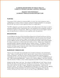 examples of grant letters grant cover letter example