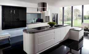 mod鑞e de cuisine contemporaine beautiful modele de decoration de cuisine ideas amazing house