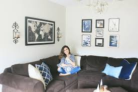 Teal Living Room Decor navy blue and teal living room ideas the naptime reviewer