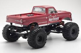 kyosho readyset 4wd mad crusher nitro monster truck rc car action