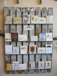 greeting card display racks for craft shows rustic display of