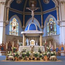 Church Decorations For Easter Sunday by Father Julian U0027s Blog Alleluia He Is Risen