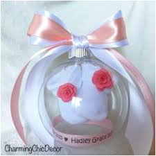 baby bootie ornament it s a girl your loved ones with a precious gender