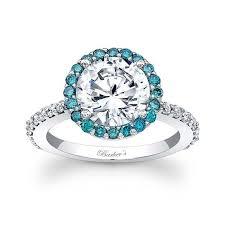 circle engagement ring barkev s blue diamond halo engagement ring 7839lbd barkev s