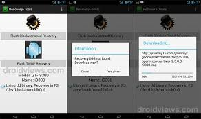 clockworkmod apk install custom recovery cwm twrp on rooted android devices with