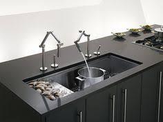 kohler karbon kitchen faucet kohler karbon chrome grey deck mount articulating kitchen faucet