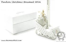 pandora 2014 ornament promo charms addict