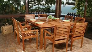 elegant patio dining sets for 8 tkclassics saturn rectangular