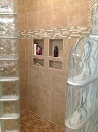 Glass Block Designs For Bathrooms by Glass Block Wall Shower Home Design Ideas