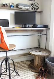 fabriquer bureau soi m e fabriquer bureau en bois avec faire bureau soi meme idees et