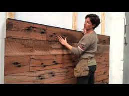 wood feature walls diy