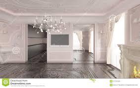 classic home interior interior of classic home stock illustration illustration of