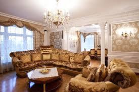 Luxury Livingroom Square Modern Low Coffee Table Persian Rug Bay Window Luxury