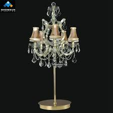 Chandelier Lamp Shades With Crystals Table Lamp Lovable Crystal Chandelier Lamp Antique Table Top
