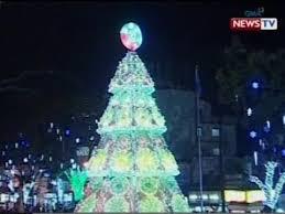 sona 25 ft christmas tree sa antipolo na yari sa recycled