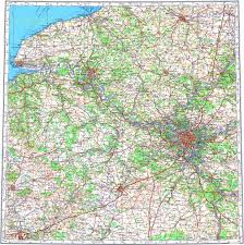 map of rouen topographic map in area of amiens rouen mapstor
