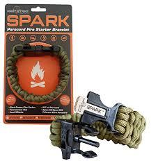 fire survival bracelet images Spark tm fire starter outdoor survival paracord bracelet army