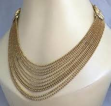 vintage necklace chains images Vintage 1930s art deco ball chain jewelry the chatsworth lady jpg