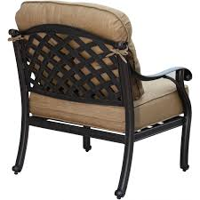 Patio Lounge Furniture by Darlee Nassau Cast Aluminum Patio Club Chair Ultimate Patio
