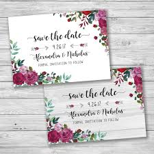 rose flower save the date rustic save the date sparkle