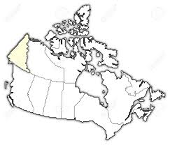 Map Of Canada Provinces by Political Map Of Canada With The Several Provinces Where Yukon