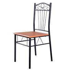 Small Kitchen Tables And Chairs by Amazon Com Tangkula Steel Frame Dining Set Table And Chairs