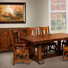 Amish Dining Room Furniture by Bostonian Trestle Extension Table Amish Dining Tables U2013 Amish Tables