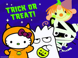 hello kitty halloween wallpaper free download