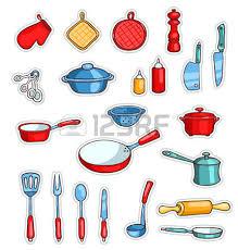 fourniture de cuisine ensemble de fournitures de cuisine et deux mignons cuisiniers