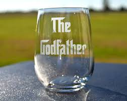 godmother wine glass etched godmother wine glass for fairy godmothers by