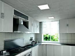 faux plafond cuisine design eclairage cuisine plafond deco luminaire cuisine eclairage cuisine
