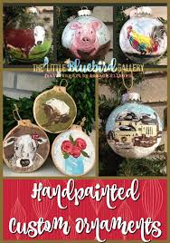 custom ornaments the bluebird gallery
