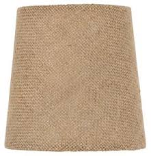 Burlap Chandelier Shades 4