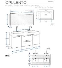 54 u201d fresca opulento fvn8013go gray oak modern double sink