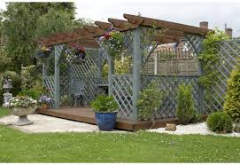 outdoor u0026 landscaping exciting wood pergola with climbing plant